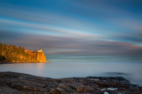 6 Minute Sunset, Split Rock Lighthouse Photography Art | John Gregor Photography