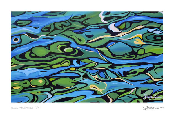 Above The Surface Limited Edition Print  Art | juliesiracusa
