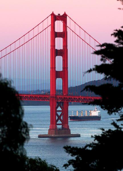 Window Into The Golden Gate Photography Art | Josh Kimball Photography