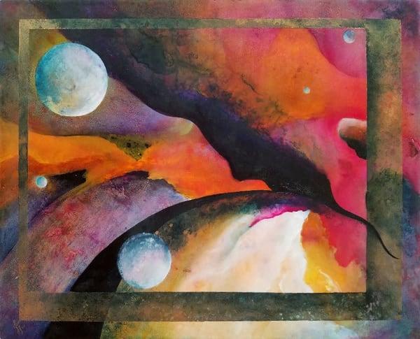 Ascending Original Art | Metaphysical Art Gallery