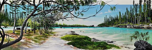 La piscine de l'ile des pins-N4