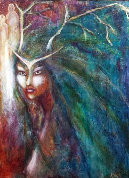 Woodland Queen (Sold) Art | Sacred Star Arts