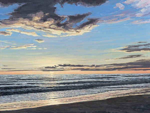 Sunrise     Acrylic On Panel Art | Patrick M. Parise