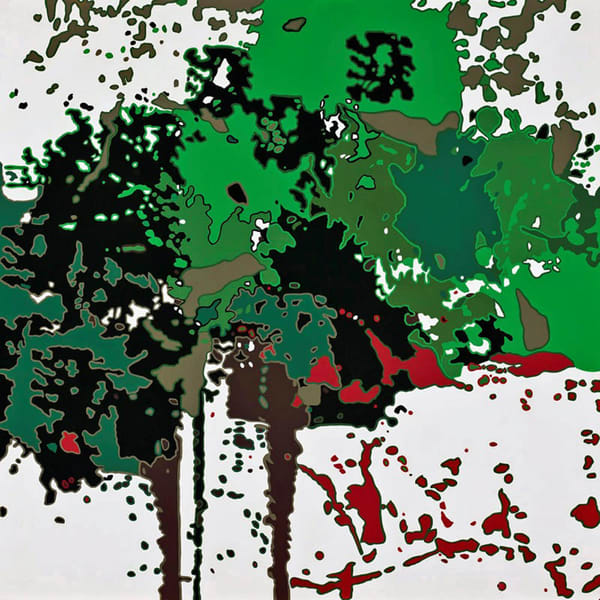 Forest Through The Trees     Acrylic On Panel Art | Patrick M. Parise