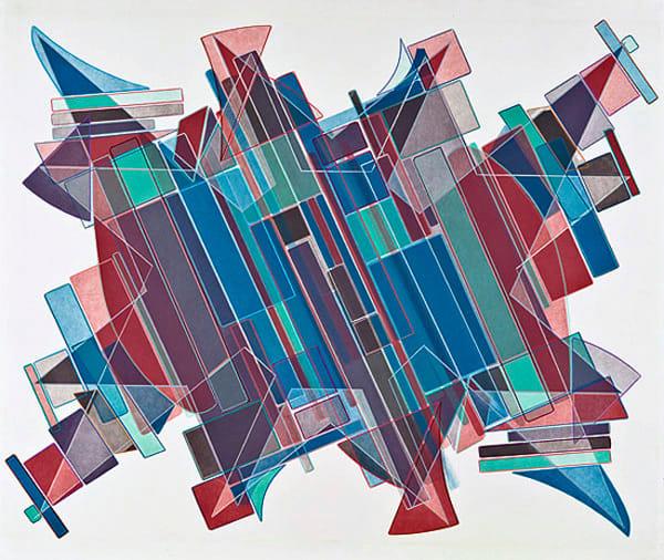 Stargazer     Multiple Plate Etching Art   Patrick M. Parise