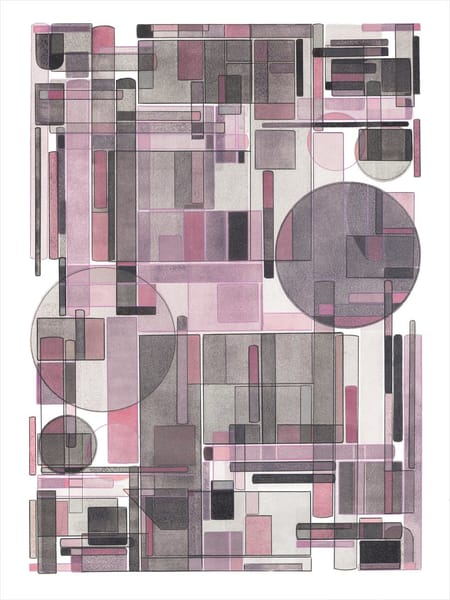 Spring Morning     Multiple Plate Etching  Art   Patrick M. Parise