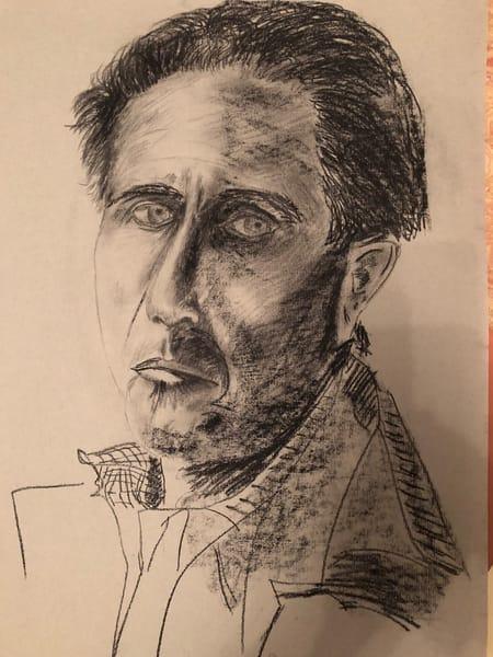 'self Portrait' Ii Art   Cera Arts