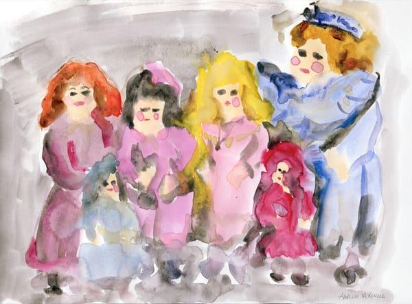 Faded Dolls | Fine Art Prints