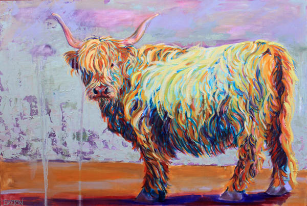 Adorable Cows and Animals. Art & Original Paintings for Sale.