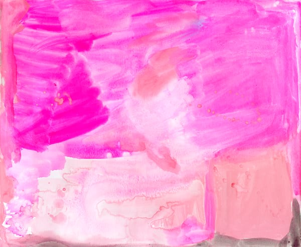 Pink Everything | Watercolor Print