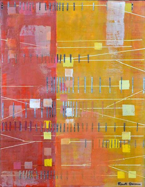 Debate Is Welcome Here 8  Sold Art | Rinat Goren