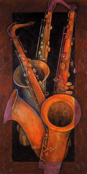 Three Sax Art | Susanne Clark
