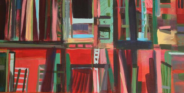 The Studio Shelves Art | All Together Art, Inc Jane Runyeon Works of Art
