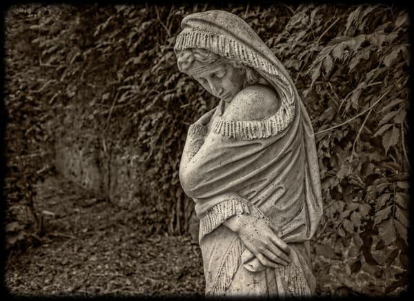 Stone Women   Duke Gardens  Photography Art | David Frank Photography