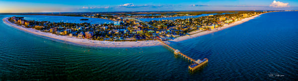 Ft Myers Beach Panoramic Photography Art | vitopalmisano