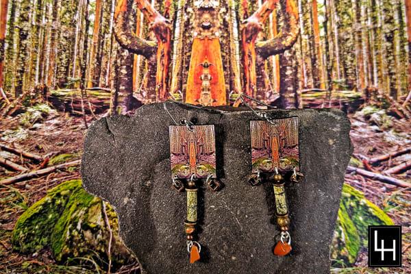 Mirror 413_No. 2 Earrings