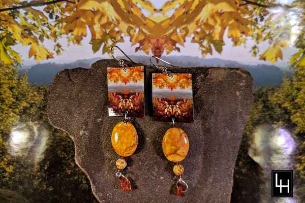 Mirror 506_No. 5 Earrings