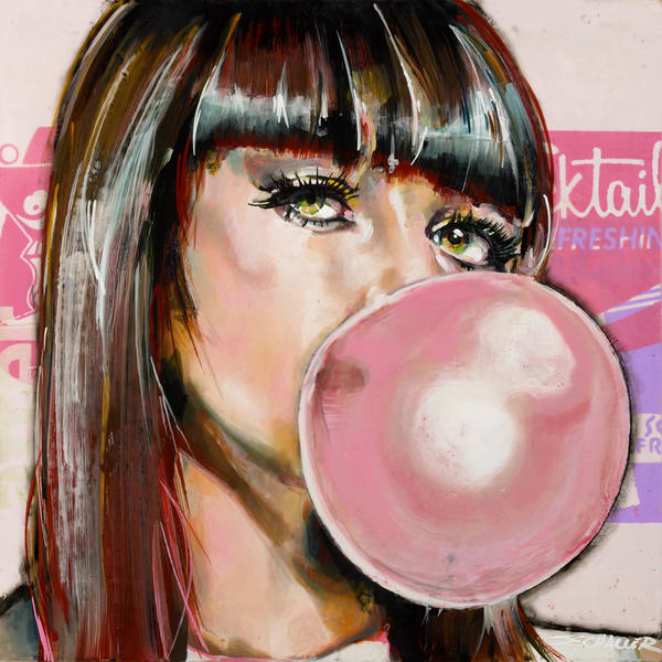 Party Girl Art | Jeff Schaller