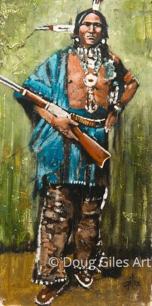Warrior Of The Plains Art | Doug Giles Art, LLC