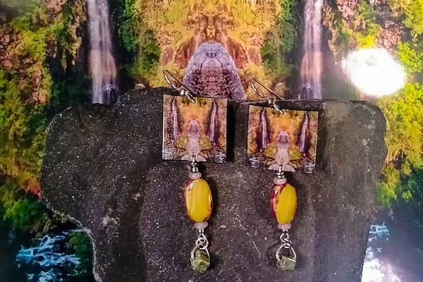 Mirror 1586_No. 1 Earrings