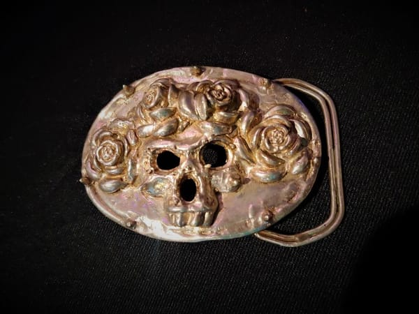 American Beauty Belt Buckle