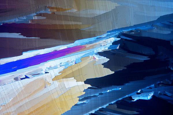 Shoreline (Hydroquinone Crystals) Art | Carol Roullard Art