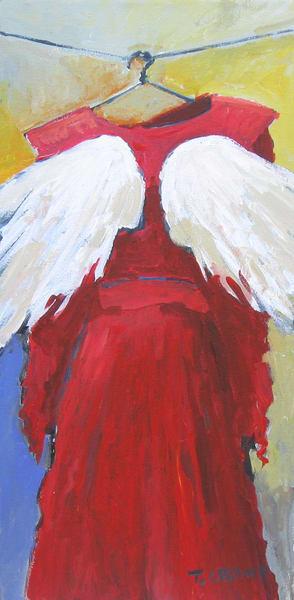 Closet Angel Red Art | terrycrump