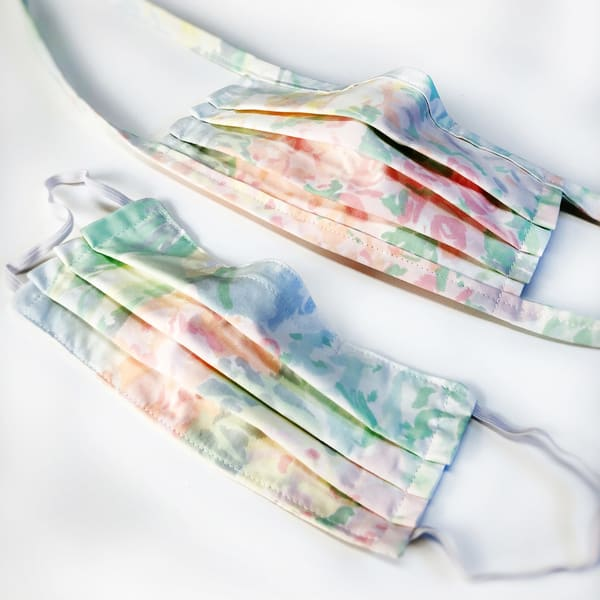 Cloth Face Mask: Dreams Of Monet (Elastic Or Ties) Art | Youngi-Sumistyle pets