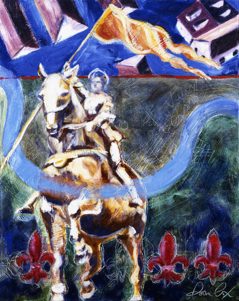 Maid Of Orleans Art | Joan Cox Art