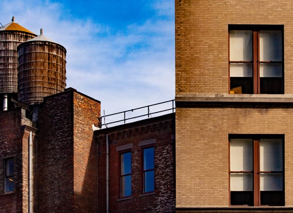 Two Water Towers Off Union Square Nyc Photography Art   Ben Asen Photography