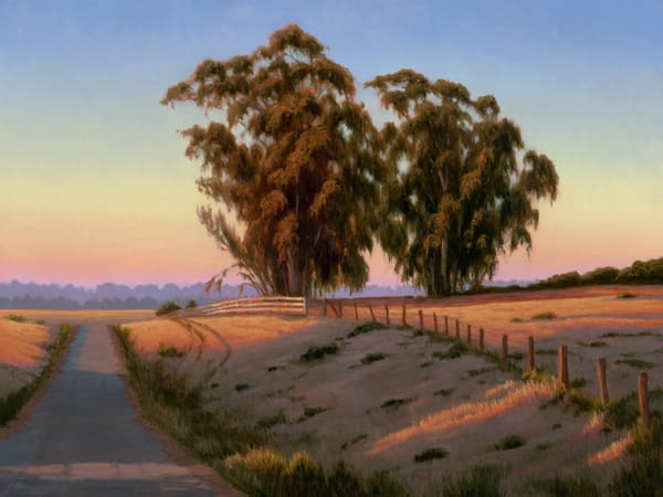 Early Morning Drive Art | Terry Sauve Fine Art