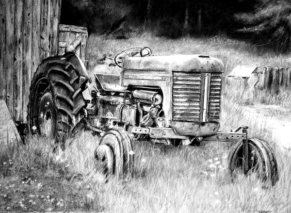 Black And White Massey Art | debherbertart