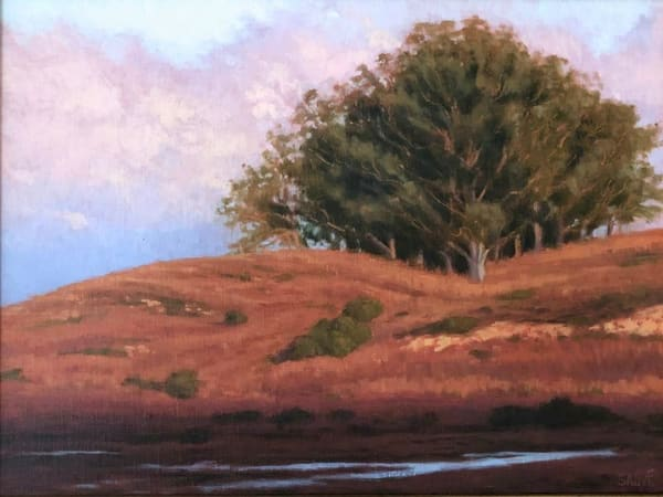 West Marin County sunrise landscape oil painting