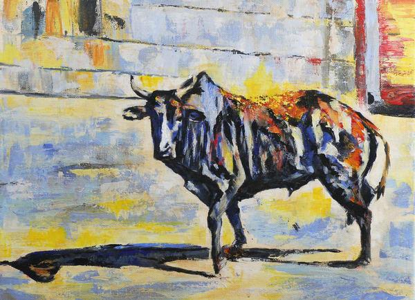 Blue CR Bull