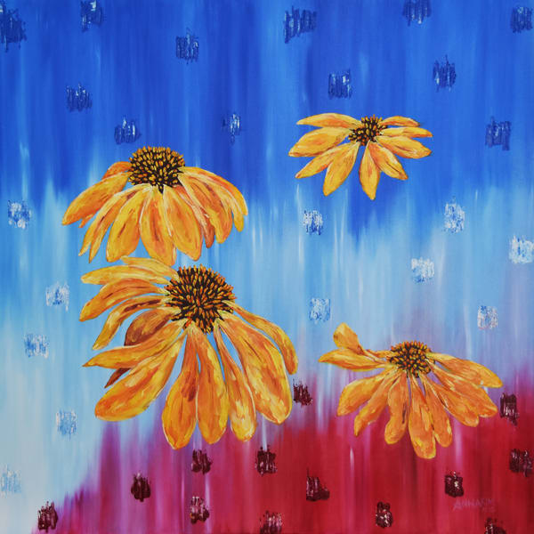 Kulay ng Pilipinas - Philippine Colors original painting - Fine Art Prints on Canvas, Paper, Metal & More