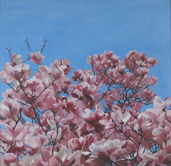 Spring In The Lower Quad Art | Digital Arts Studio / Fine Art Marketplace