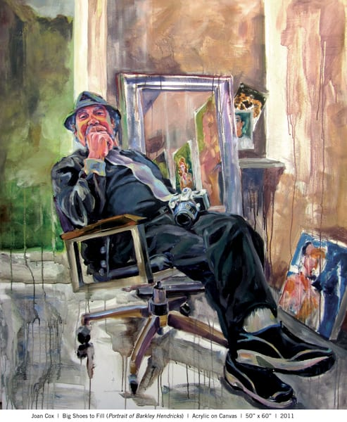 Big Shoes To Fill (Portrait Of Barkley Hendricks) Art | Joan Cox Art