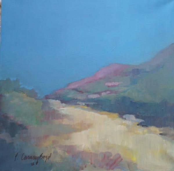 Desert Meditation, desert, trails, Arizona, desrt trails, purple mountains