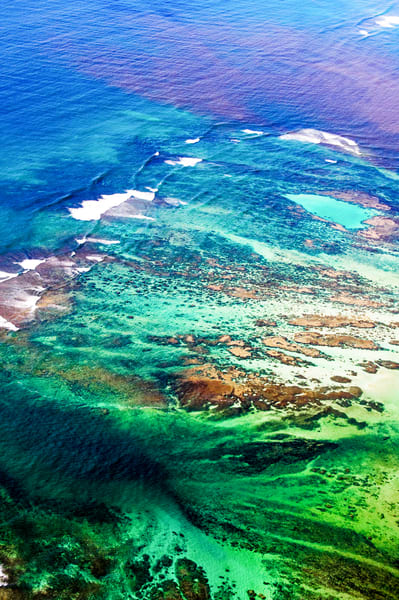 Colorful Waters Off Molokai  Photography Art   Hatch Photo Artistry LLC