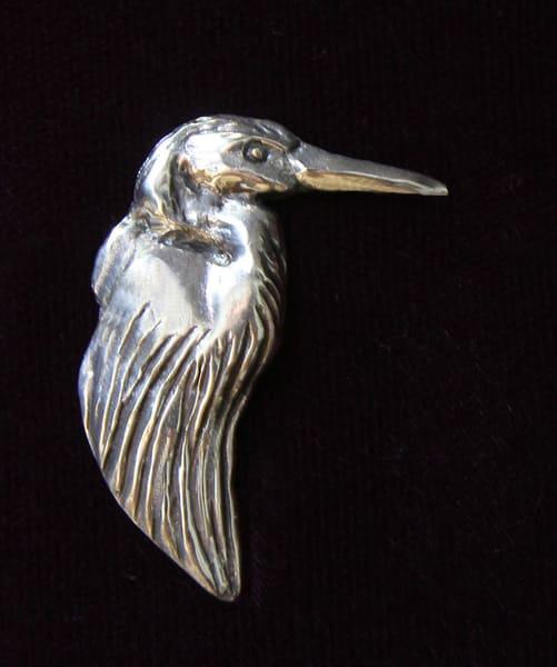 Great Blue Heron Pin | Drawn To Nature