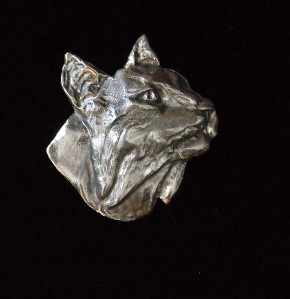 Bobcat Head Pin | Drawn To Nature