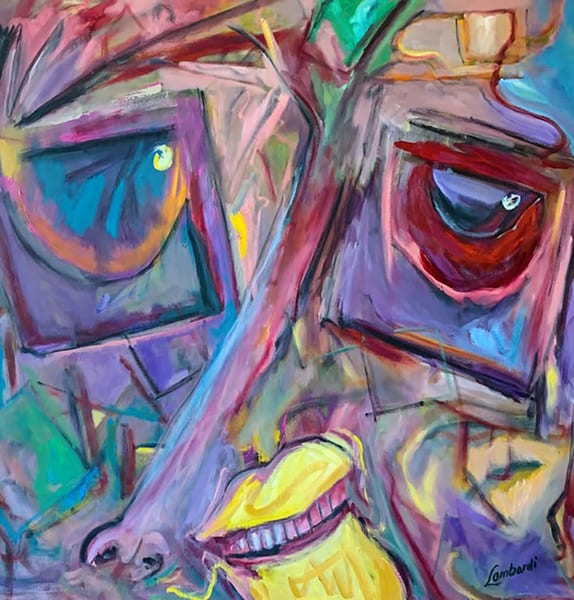 oil, acrylic, face, eye,, color, colorful, art, fine art, abstract, run, move, up