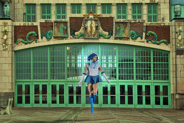 Sailor Mercury Landing at Asbury Park