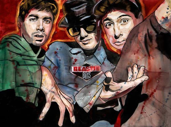 Beastie Boys Art | William K. Stidham - heART Art