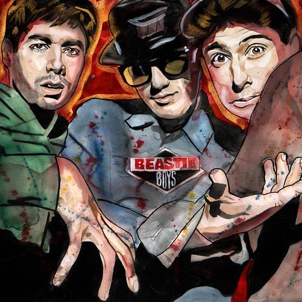 Beastie Boys Coaster Art | William K. Stidham - heART Art