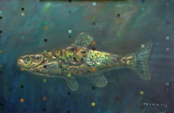 """My Minnow,"" Lep  Art | DBA George Delany Art"