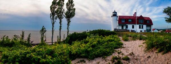 majestic pointe betsie lighthouse summer