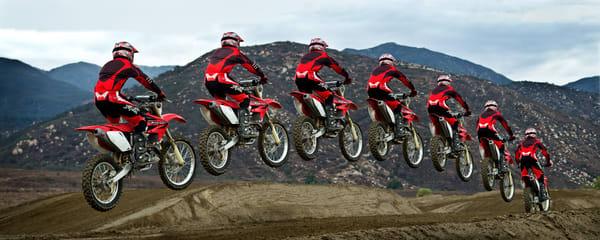 Dirt Bike Jump pano