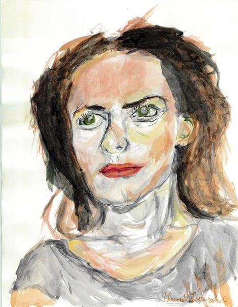Red Lady Art   Howard Lawrence Fine Art