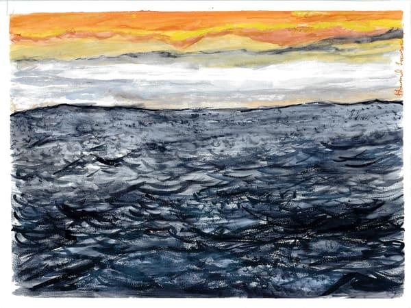 Sea At Dawn Art   Howard Lawrence Fine Art